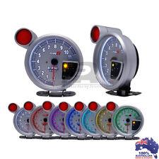 "5"" Tachometer Monster Tacho Gauge RPM + Shift Light Peak Warning 11000 RPM"