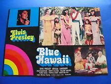 FOTOBUSTA BLUE HAWAII ELVIS PRESLEY ANGELA LANSBURY NANCY WALTERS HAYES RARA 2F6