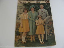 1939 Toronto Canada Star Weekly Visit of King George VI & Queen Elizabeth