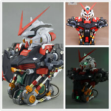 MK MotorKing model 1/35 MBF-P02 ASTRAY Red Frame Gundam Bust Head with led
