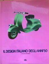 livre il design italiano degli anni 50 ponti albini bbpr mollino munari zanuso..