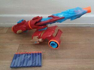 Avengers Infinity War Marvel Nerf Assembler Gear Set iron man + bullets 8.99p