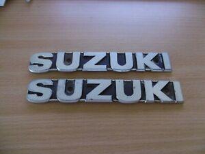 USED SUZUKI GT TANK BADGES 68111-34000