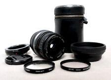 Olympus PEN OM Panasonic LUMIX Micro 4/3 DSLR 28mm Macro Close Up lens EPL DMC