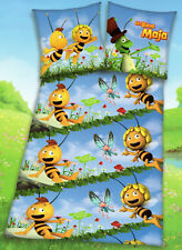 Bettwäsche Die Biene Maja + Willi - Schmetterling  - 135 x 200 cm - Baumwolle