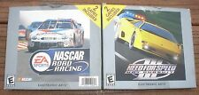 2 Games in 1 Need For Speed III Hot Pursuit & NASCAR Racing CD's Windows '95 & 8