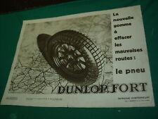 PETITE AFFICHE DUNLOP 1930 D INTERIEUR GARAGE NO 215 - 320X240 - bidon huile oil
