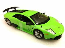 Bburago 1:24 LAMBORGHINI MURCIELAGO LP670-4 Race Diecast Car Model Green