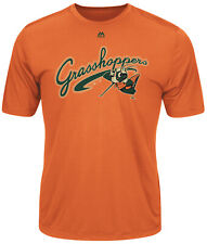 Majestic Evolution Greensboro Grasshoppers Minor League Youth Jersey Shirt YL
