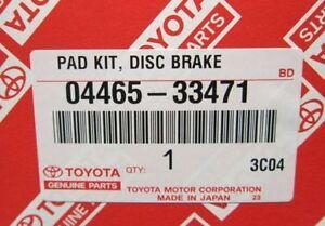 NEW genuine Lexus OEM Front Brake Pads 2007-2013 ES350 0446533471