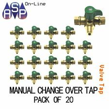 GAS LPG REGULATOR - MANUAL CHANGEOVER VALVE/TAP 2 STAGE PACK OF 20