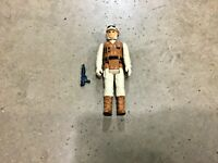 Vintage 1980 Star Wars Rebel Soldier action figure with weapon, free shipping!