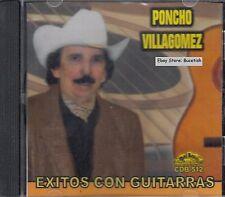 Poncho Villagomez y Sus Coyotes Del Rio Bravo Exitos Con Guitarras CD New Sealed