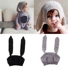 Winter Baby Hats Boy Girl Earflap Toddler Kids Long Ear Rabbit Cap Warm Soft Hat