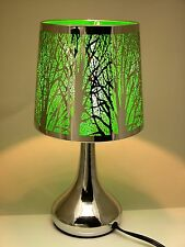 Unbranded modern touch lamp lamps ebay stainless steel table touch lamp tree 126 green silver color shade aloadofball Image collections