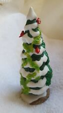 """5"""" THE HOLLY & THE IVY 1997 EVENT PIECE DEPT 56 vintage table Christmas decor"""