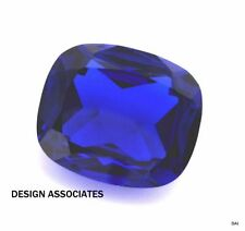 MAN MADE ROYAL BLUE SPINEL 14X12 MM CUSHION CUT OUTSTANDING COLOR AAA