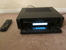 Sony SLV-R1000 working vcr svhs play recorder with remote