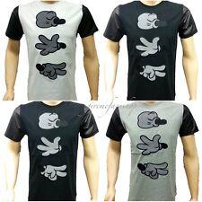 Time Is Money Main Étoile Club T-Shirts,PU G Coton T-Shirts Rock Urbain Rap