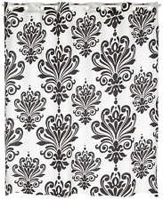 Carnation Home Fashions EZ On Fabric Shower Curtain, Beacon Hill