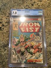 Iron Fist #14 (Marvel 8/77) 1st app of Sabretooth (Victor Creed) - CGC 7.0 FN/VF