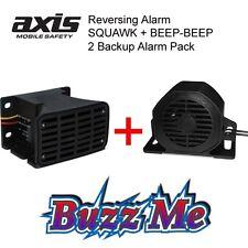AXIS Reversing Alarm 2 Back-up Alarms Pack BA107+BA97 TONAL BACKUP ALARM