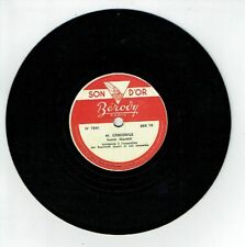 78T Disque 17cm Phono Raymond JOUART Accordéon M. CROCODILE - BEROVY Paris 7841