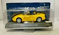 THE MASERATI COLLECTION - 1:43 DIECAST - MASERATI SPYDER GT 2001 - AA3524CS
