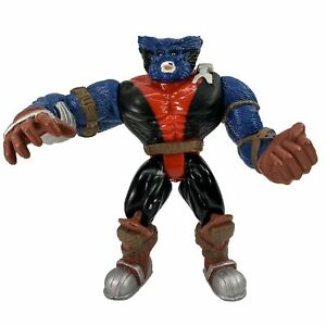 Vintage 1996 Marvel X-Men BEAST Posable Action Figure 6 Inch Toy Biz
