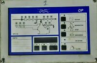 Alfa Laval EPC 50 Operating Panel of Oil Separator Filter S-type Separation sys