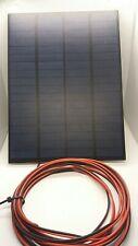 3 WATT RESIN SOLAR PANEL CHARGER FOR 12V ELECTRIC FENCE ENERGISER BATTERY