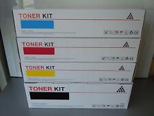 NEXTDAY DELIVERY - 4 X TONER CARTRIDGES COMPATIBLE WITH OKI C610dtn C610dn C610n