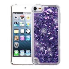 For Apple iPod Touch 5th Gen/6th Gen Purple Quicksand Hard TPU Case Cover