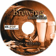 250+ Books How to Brew Make Beer Moonshine Wine Home Ultimate Brewing Collection