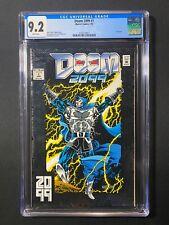 Doom 2099 #1 CGC 9.2 (1993) - Doctor Doom - Foil cover