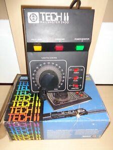 MRC TECH II Railmaster 2400 PROPORTIONAL TRACKING Model Train Control - NIB