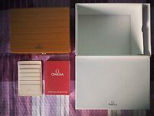 Scatola Omega completa in legno NUOVO, Omega wooden watch box all inclusive NEW