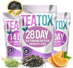 ORIGINAL TEATOX ✶SLIMMING TEA✶14 DAY DETOX✶WEIGHT LOSS✶DIET✶BURN FAT TEATOX