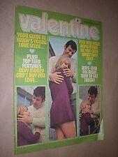 VALENTINE. GIRLS COMIC. MAGAZINE. 24th JANUARY 1970. GIRLS COMIC.
