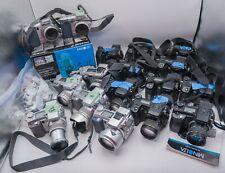 Lot of 18 Mostly Parts! Minolta Dimage A1 A2 5 7 7Hi Digital Cameras - Bad Ccd