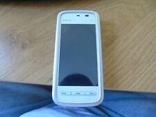 Nokia 5230 - White/Pink (Unlocked) Smartphone