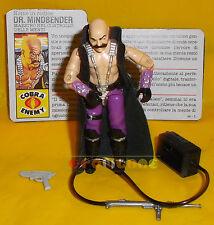 DR. MINDBENDER (v1) 1986 Series 5 - With Card - G.I. Joe GI Hasbro ○○○○ COMPLETO