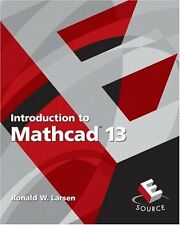 Introduction to MathCAD 13, 2nd Edition