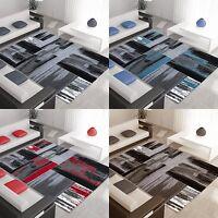 moderne Patchwork tapis design à poils ras salon différentes couleurs et tailles