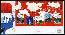 NEDERLAND E520.1 FDC 2005 - Verzamelblok Mooi Nederland 1