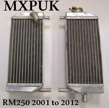 RM250 RADIATORS 2001 to 2008 RADS RM 250 PERFORMANCE RADIATOR MXPUK (001)