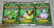 1st Edition Jungle Pokemon Booster Pack. One Pack! Fresh From Booster Box!