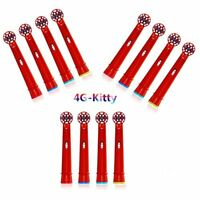 4G-Kitty EB10 A with Standard Electric Toothbrush Heads For Braun Oral-b (4,12pc
