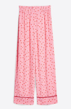 Topshop Sugar Spotted Trousers Pink Polka Dot