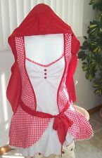 RED RIDING HOOD Adult COSTUME Size M